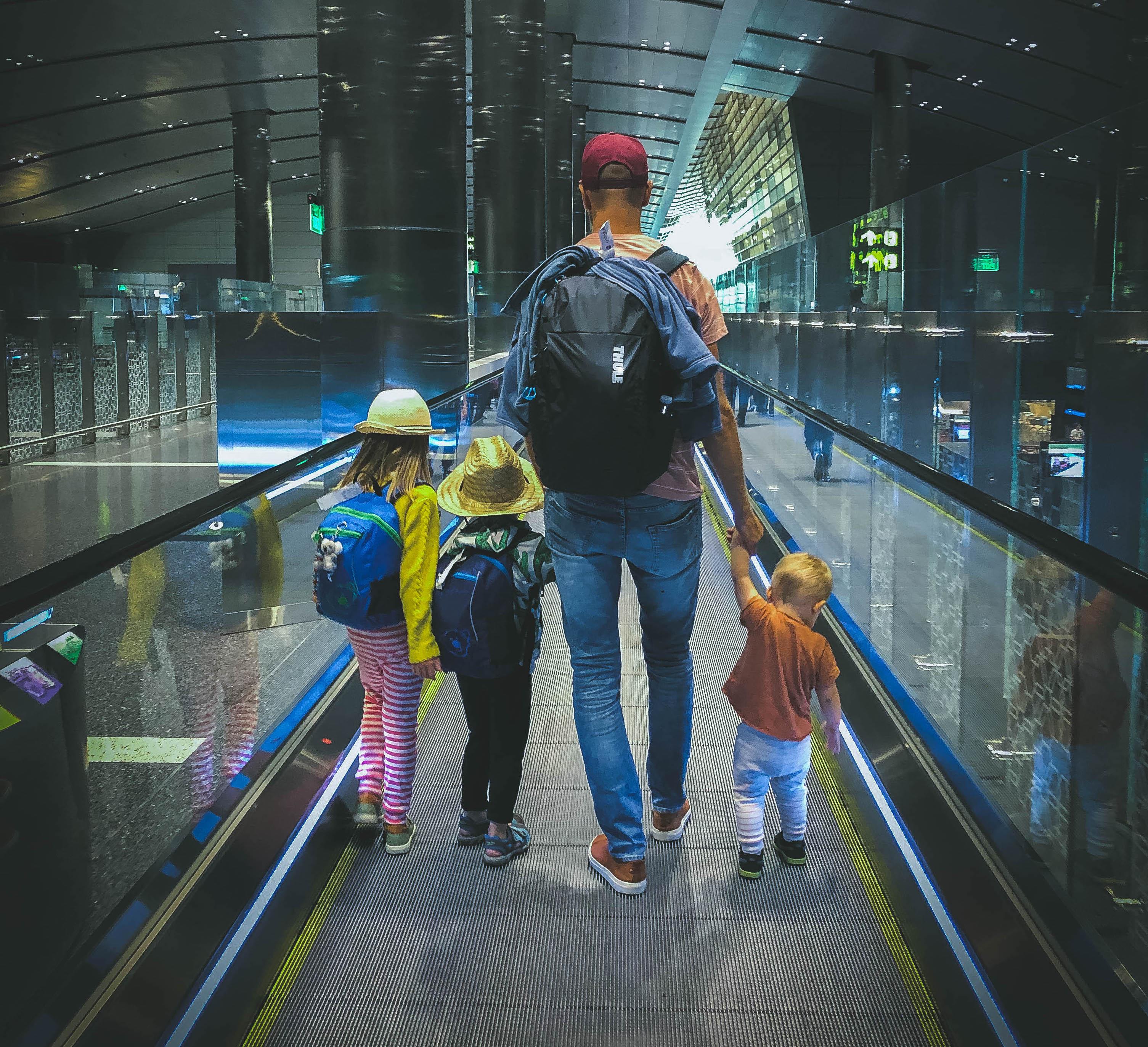 Resa långt med små barn Aktivt familjeliv