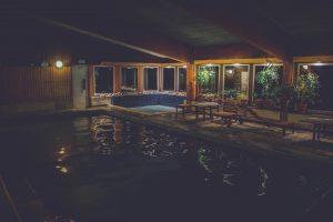 pool och bastu