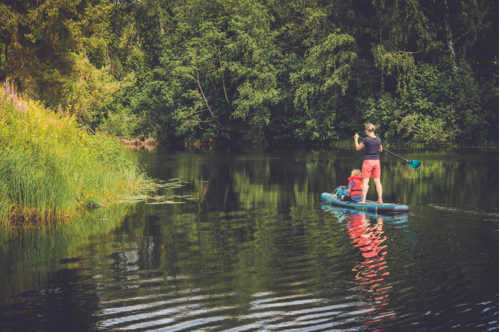 Få saker klår en härlig SUP paddling!